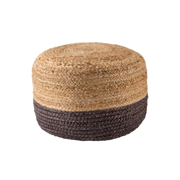 Mikada Short Pouf - Dark Grey