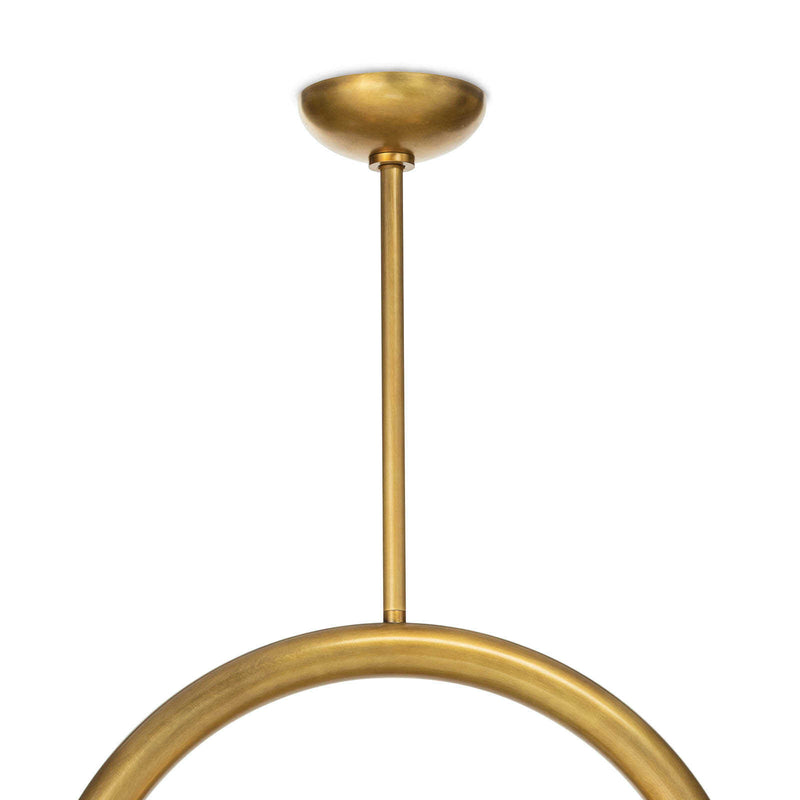 Bridlewood Brass Pendant - Small