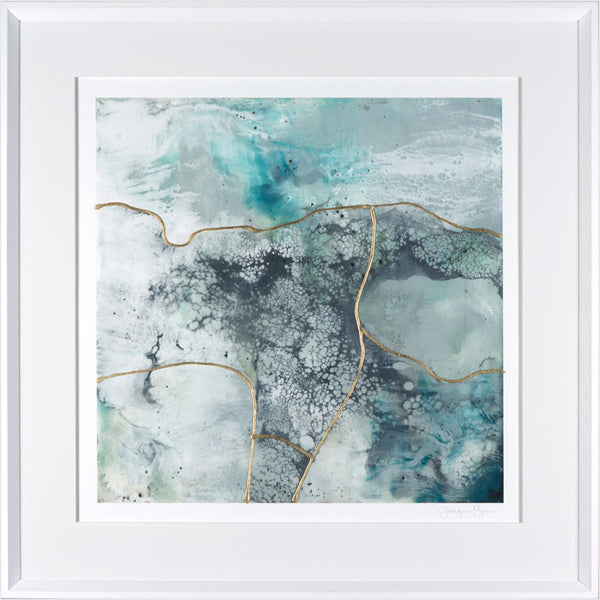 Sea Waves I Framed Print
