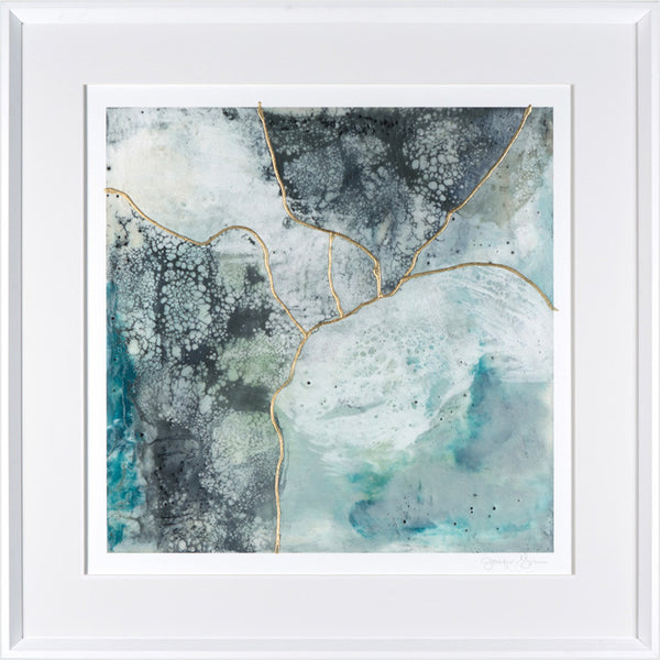 Sea Waves II Framed Print