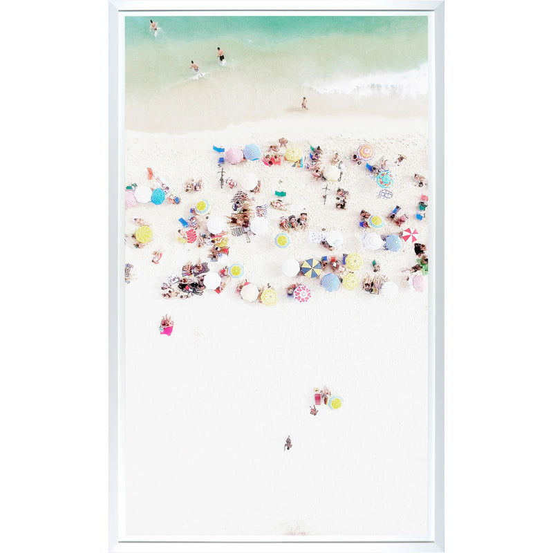 Beach Bird's-Eye View 1 Framed Print