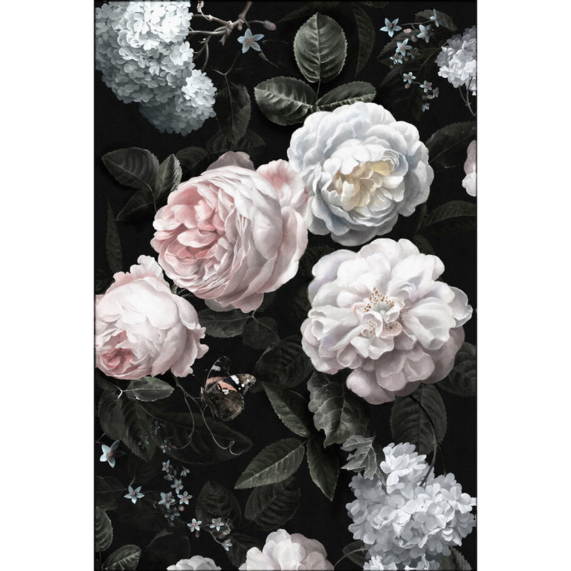 Moody Blooms 1 Canvas