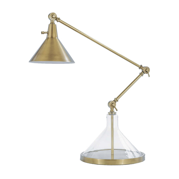 Becker Table Lamp - Brass - Floor Model