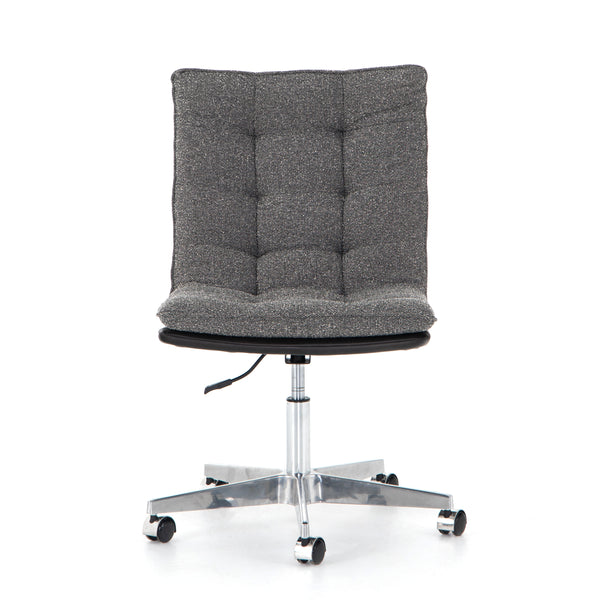 Spring Office Chair - Distressed Black