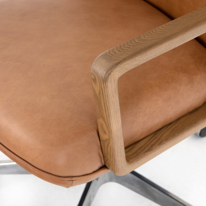 Oca Leather Office Chair