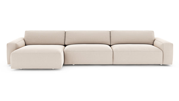 Nefton Sectional - Ivory