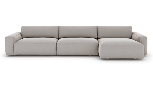 Nefton Sectional - Ash