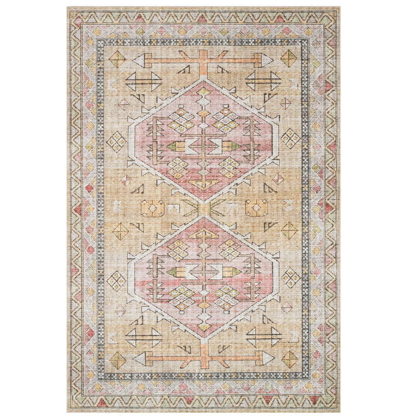 Skye Gold/Blush Rug