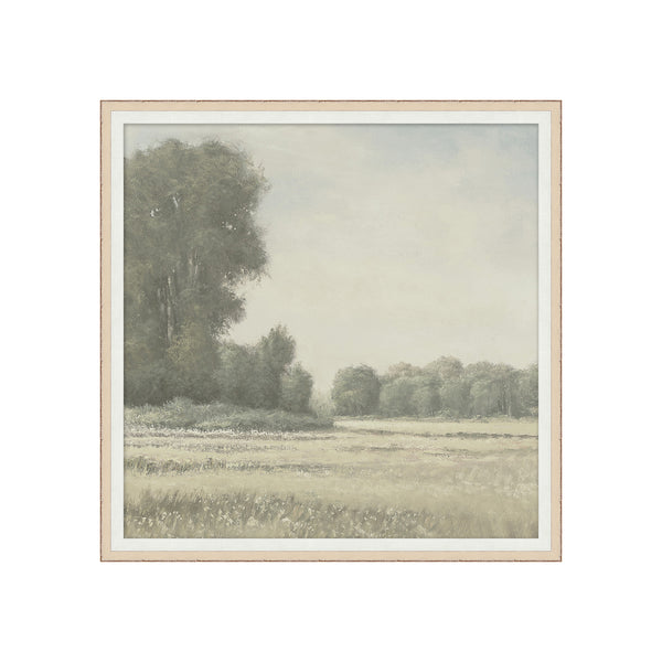 Serene Meadows 2 Framed Print