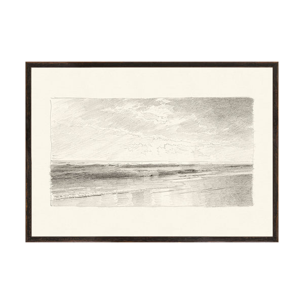 Willy Seascape 2 Framed Print