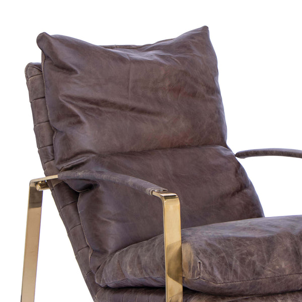 April Leather Armchair
