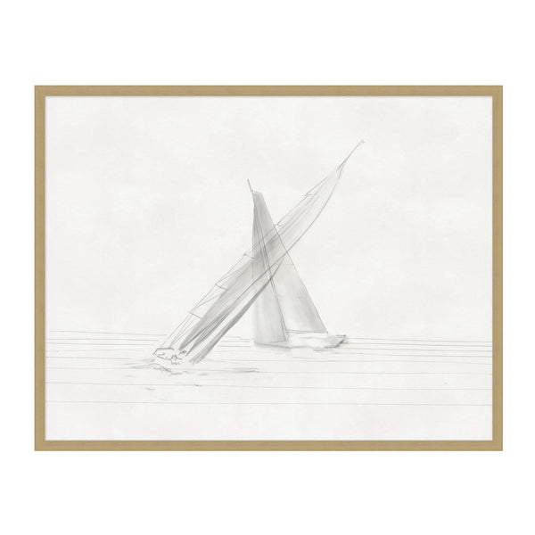 Sailboats 3 Framed Print