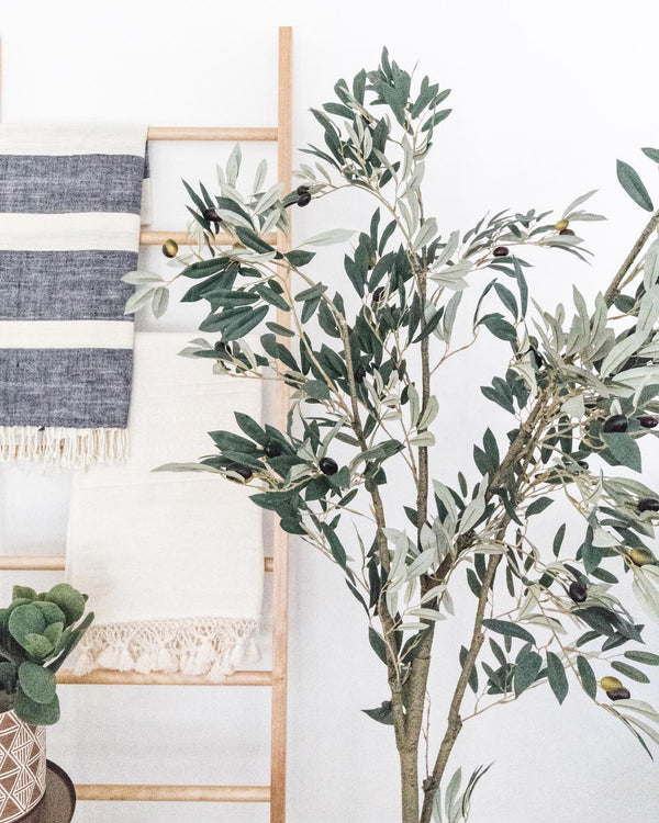 Faux Fruiting Olive Tree