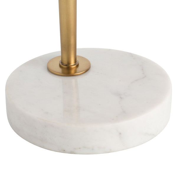 Zoe White Table Lamp