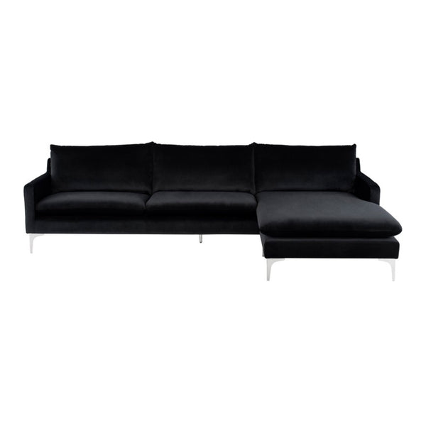 Andie Sectional Black