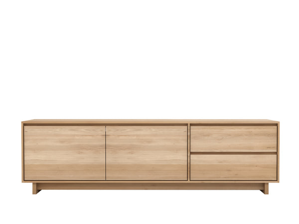 Oak Wave Media Unit
