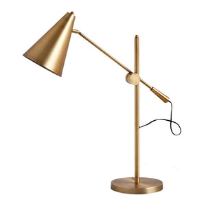Hendrix Brass Desk Lamp