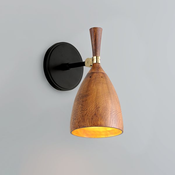 Chriswell Sconce - Wood