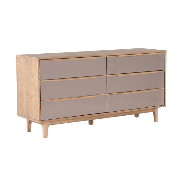 Atticus 6 Drawer Dresser