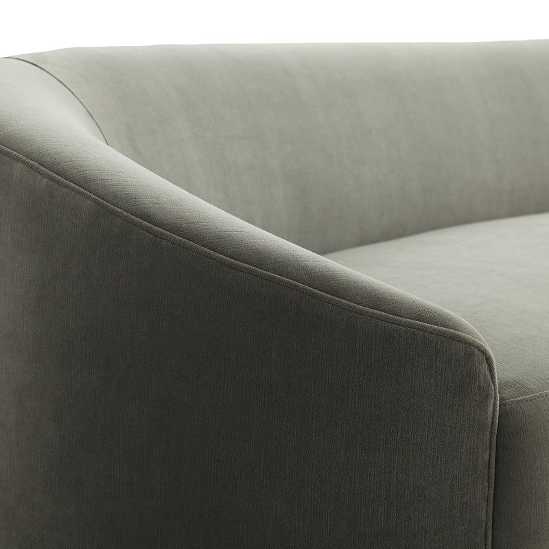 Turner Sofa Sharkskin Velvet