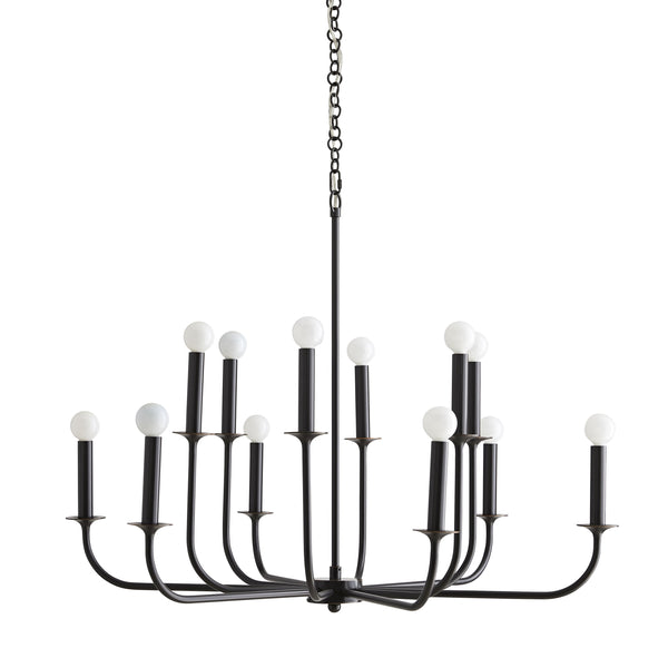 Breck Small Chandelier - Bronze