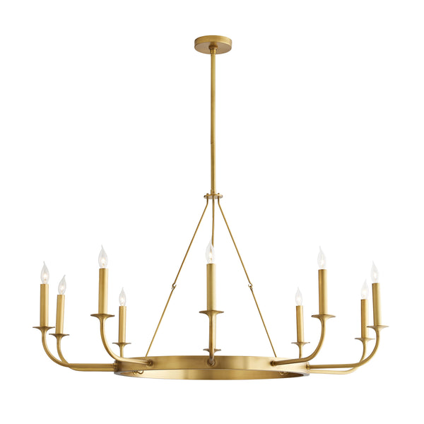 Lindberg Pendant - Antique Brass