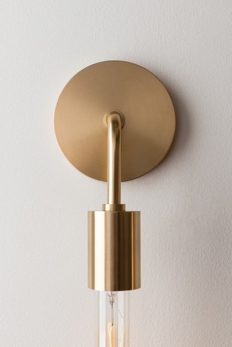 Ava Wall Sconce - Aged Brass
