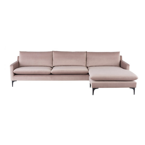 Andie Sectional - Blush