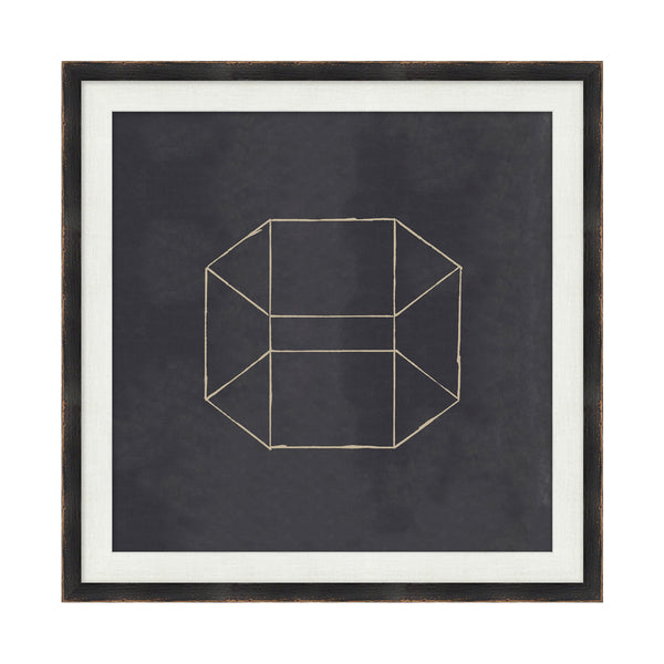 Geometrix VI Framed Print