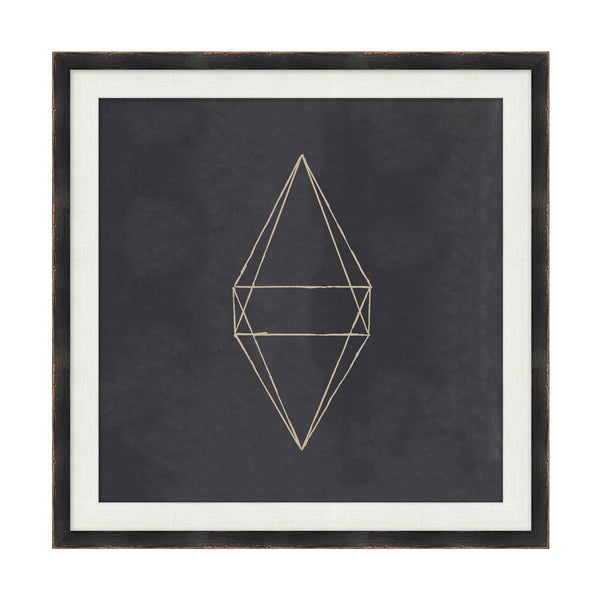 Geometrix V Framed Print