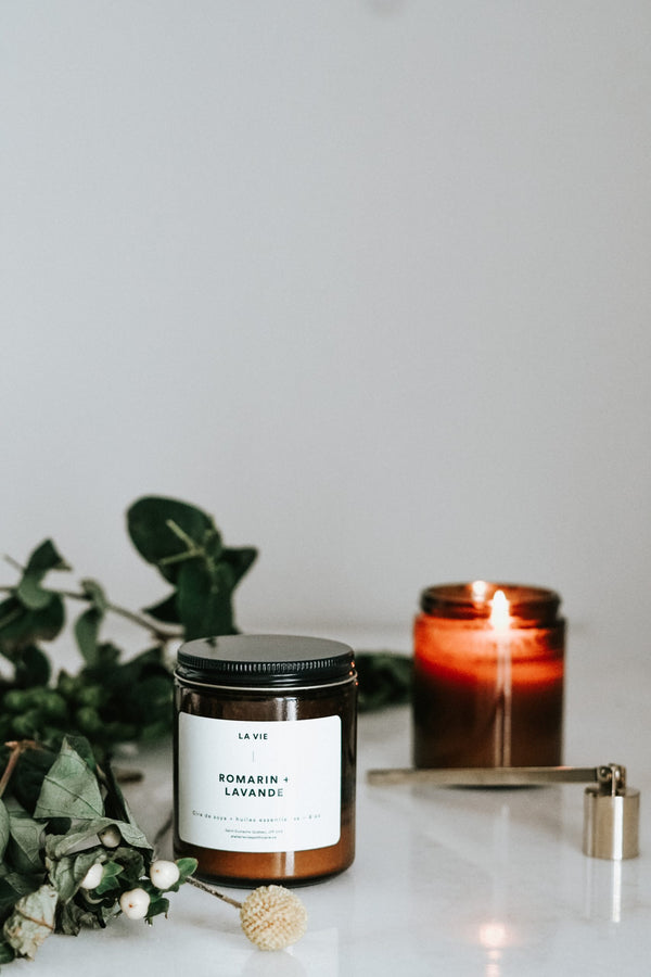 Rosemary Lavender Candle