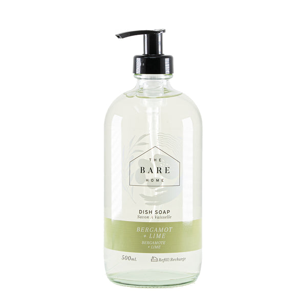 Bergamot & Lime Dish Soap