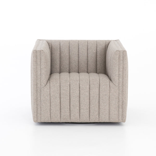 Darcy Swivel Chair - Grey