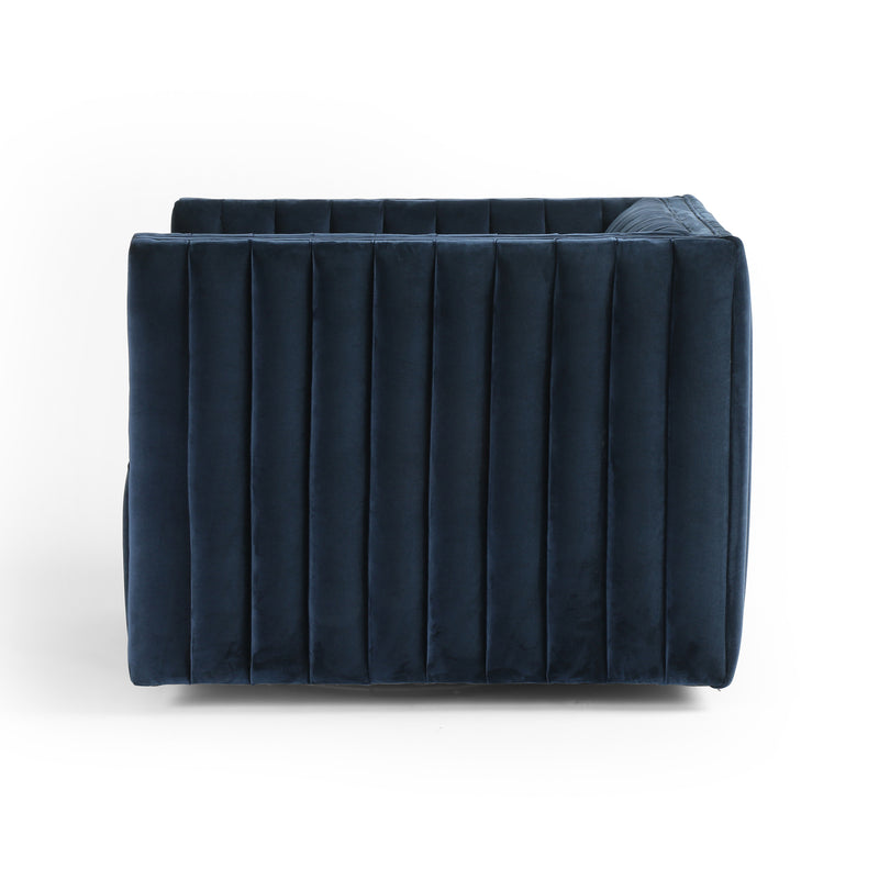 Darcy Swivel Chair - Navy
