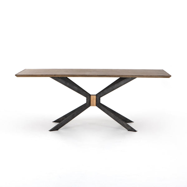 Ryder Dining Table - Brass