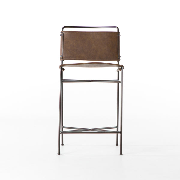 Wharton Counter Stool- Brown