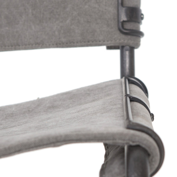 Wharton Counter Stool - Grey