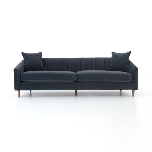 Somerset Velvet Shadow Sofa