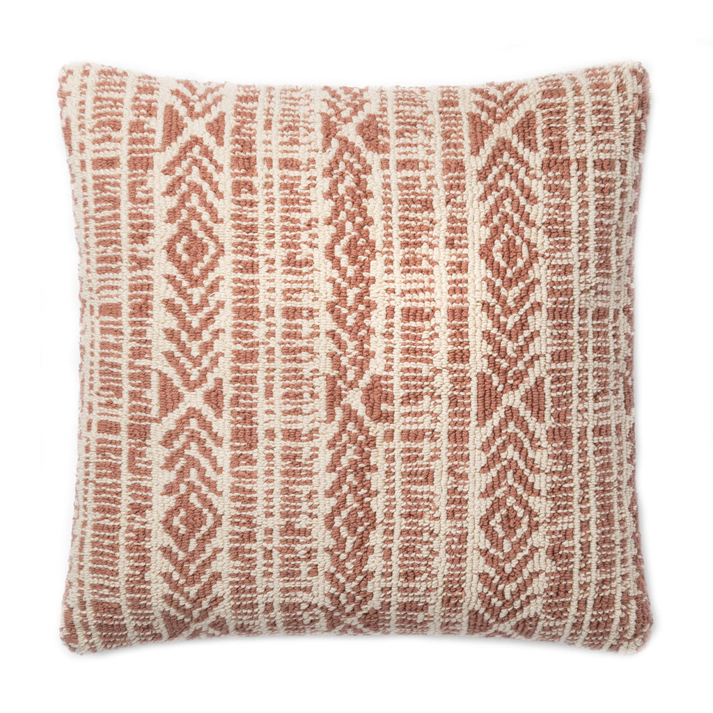 Christine Natural/ Rust Pillow