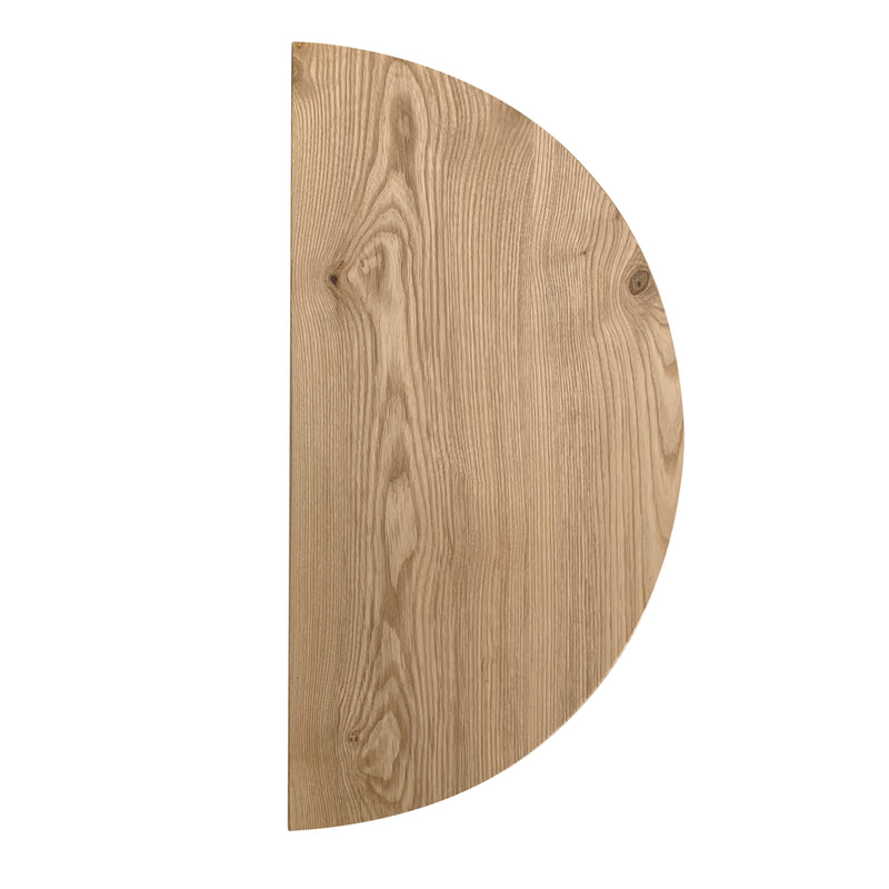 Half Moon Solid Ash Wall Hanging