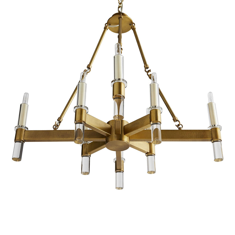 Griffith Brass Chandelier