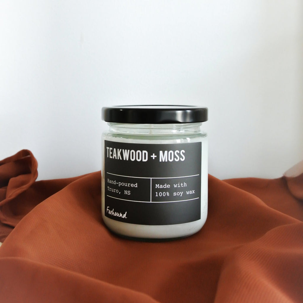 Teakwood & Moss Candle