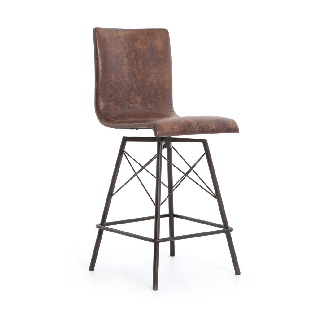 Demi Counter Stool in Brown