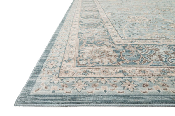 Ella Rose Light Blue/Dark Blue Rug