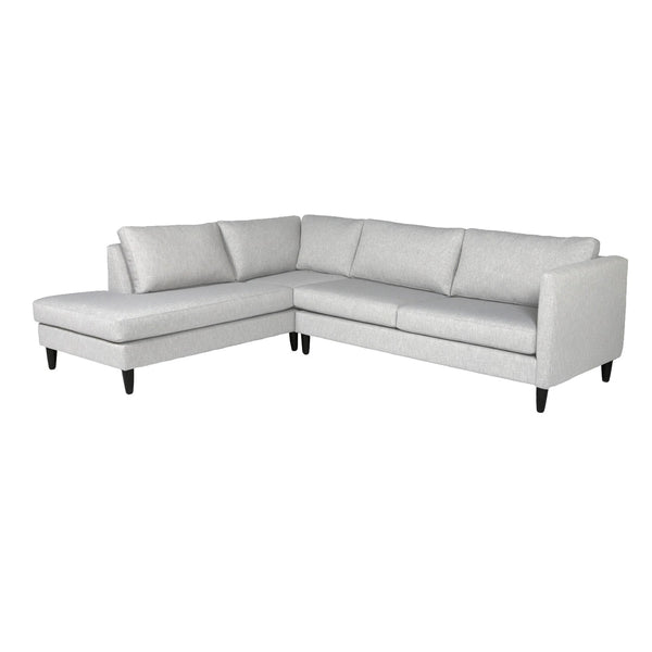 Piper Custom Chaise Sectional Loveseat LHF