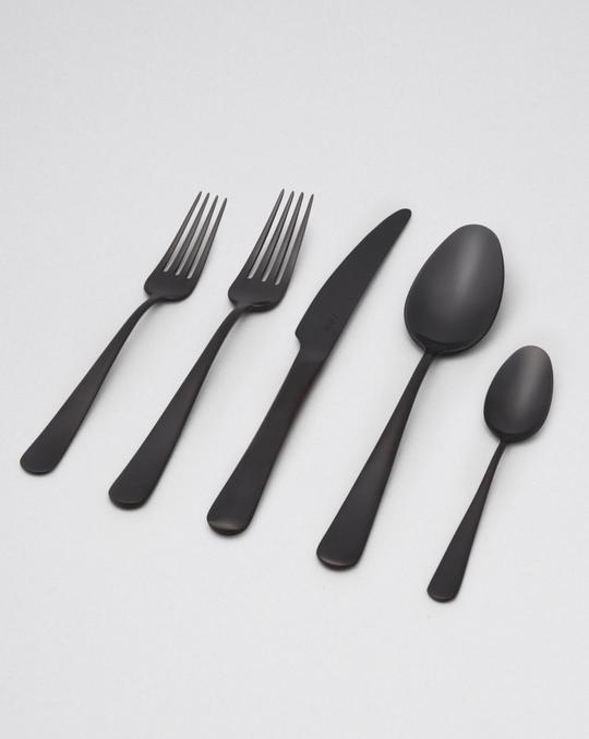 Fable Cutlery Set - Matte Black