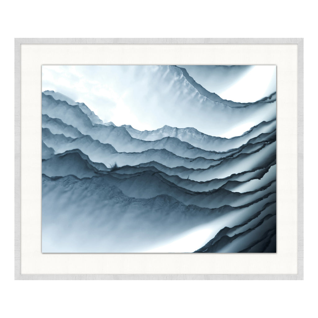 Flow II Framed Print
