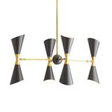 Fuentes Chandelier - Brass