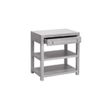 Khal Side Table - Grey
