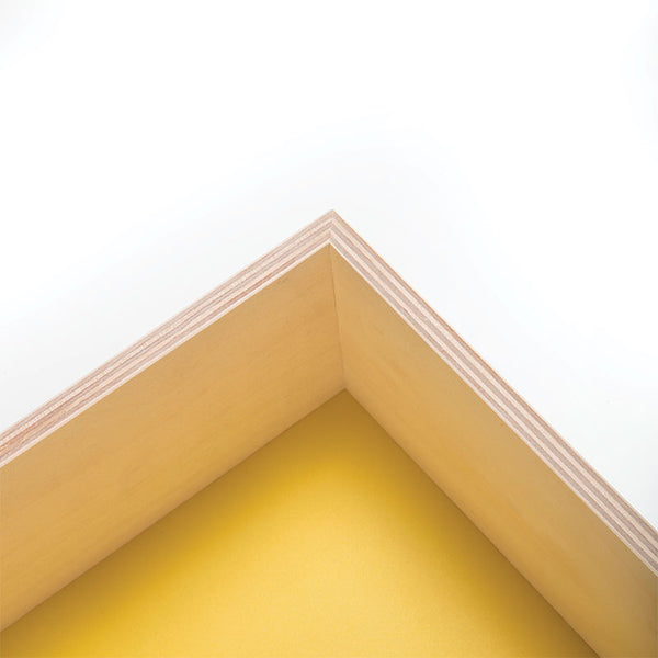 House Shelf - Yellow